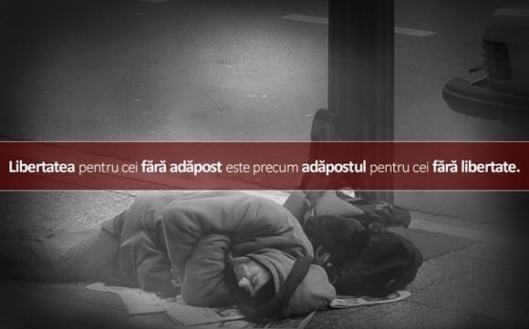 Problema siguranței naționale și legea ( lipsă) a persoanelor fără adăpost