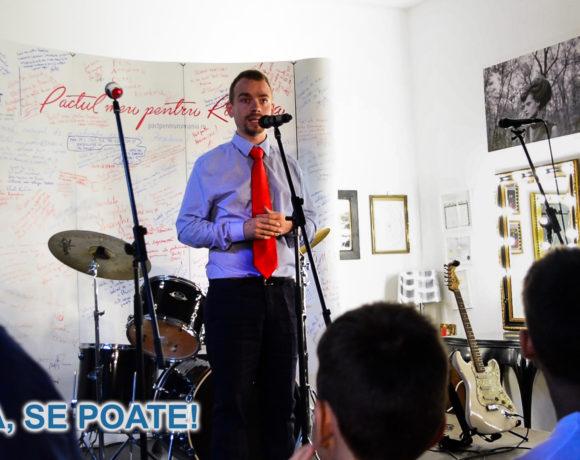 Lansarea candidaturii lui Vișinel Balan la Camera Deputaților