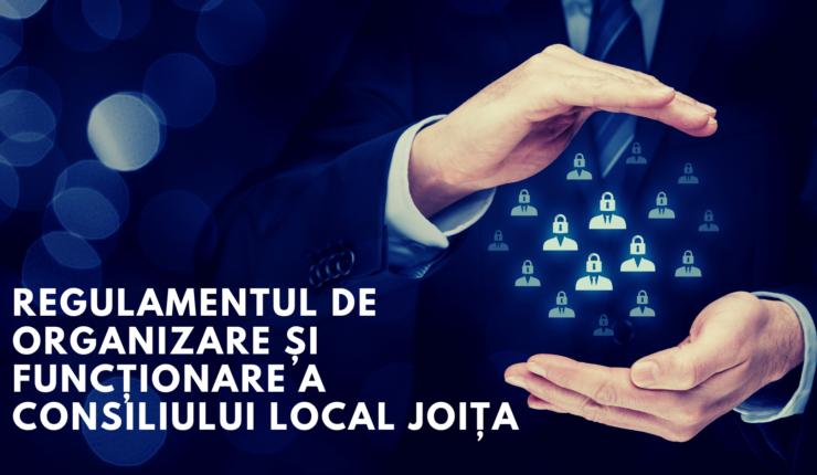 Amendamente la Regulamentul de Funcționare a Consiliului Local Joița